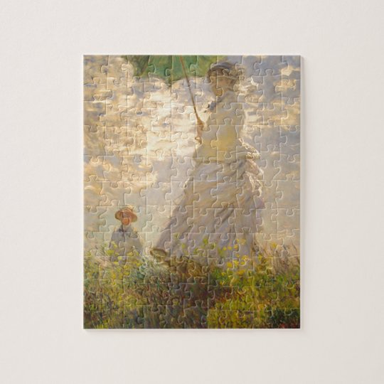 Claude Monet // La Promenade // Umbrella Jigsaw