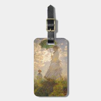 Claude Monet La Promenade Umbrella Luggage Tags