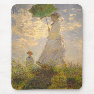 Claude Monet // La Promenade // Umbrella Mousepad