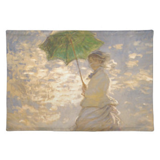 Claude Monet // La Promenade // Umbrella Place Mats