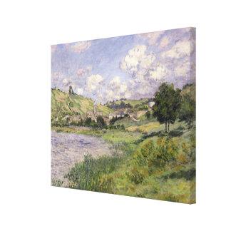 Claude Monet | Landscape, Vetheuil, 1879 Canvas Print
