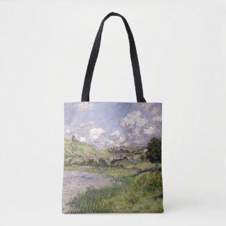 Claude Monet | Landscape, Vetheuil, 1879 Tote Bag