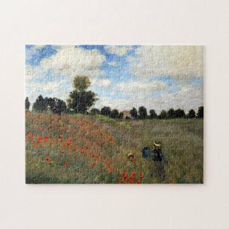 Claude Monet - Les Coquelicots Jigsaw Puzzle