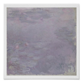 Claude Monet | Light-coloured Waterlilies Poster