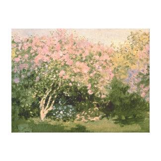 Claude Monet | Lilac in the Sun, 1873 Canvas Print