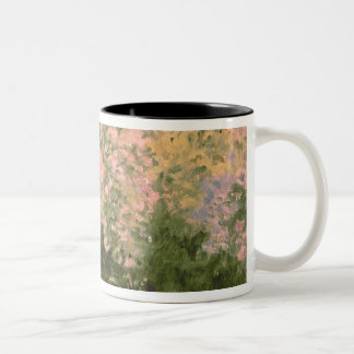 Claude Monet | Lilac in the Sun, 1873 Two-Tone Coffee Mug