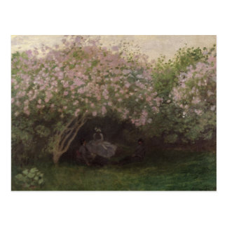 Claude Monet | Lilacs, Grey Weather, 1872 Postcard