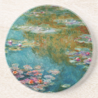 Claude Monet, Lily Pond at Giverny Drink Coaster