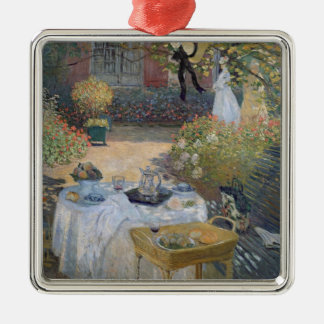 Claude Monet | Luncheon: Monet's garden Argenteuil Christmas Ornament