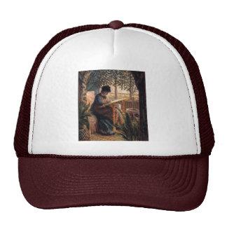 Claude Monet: Madame Monet Embroidering Cap