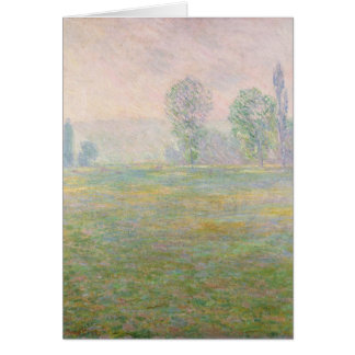 Claude Monet | Meadows in Giverny, 1888 Card