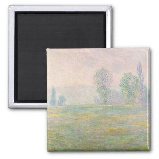 Claude Monet | Meadows in Giverny, 1888 Magnet