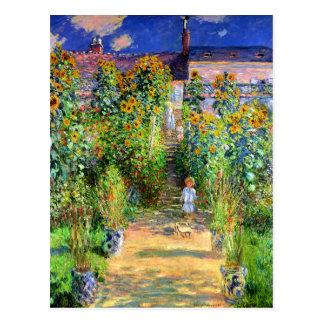 Claude Monet Monet s Garden at Vétheuil Post Cards