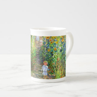 Claude Monet: Monet's Garden at Vétheuil Bone China Mug
