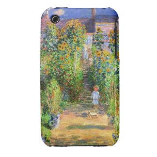Claude Monet: Monet's Garden at Vétheuil iPhone 3 Covers