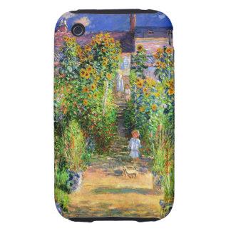 Claude Monet: Monet's Garden at Vétheuil iPhone 3 Tough Covers