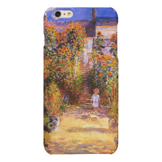 Claude Monet-Monet's Garden at Vétheuil iPhone 6 Plus Case