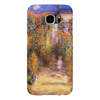 Claude Monet-Monet's Garden at Vétheuil Samsung Galaxy S6 Cases