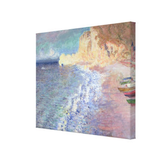 Claude Monet | Morning at Etretat Canvas Print