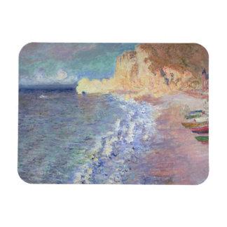 Claude Monet | Morning at Etretat Magnet