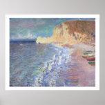 Claude Monet | Morning at Etretat Poster