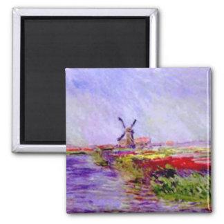 Claude Monet - moulin Magnet