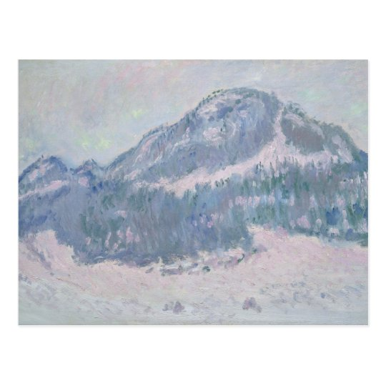 Claude Monet | Mount Kolsaas, Norway, 1895 Postcard