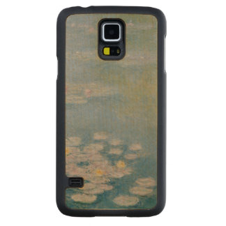 Claude Monet | Nympheas at Giverny, 1908 Carved Maple Galaxy S5 Case