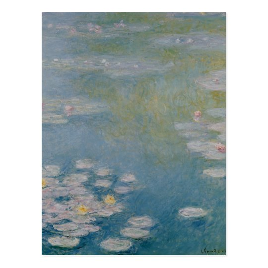 Claude Monet | Nympheas at Giverny, 1908 Postcard