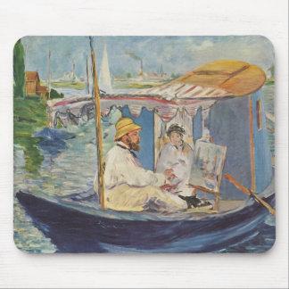 Claude Monet Painting - Edouard Manet Mousepad