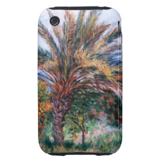 Claude Monet: Palm Tree at Bordighera Tough iPhone 3 Cases
