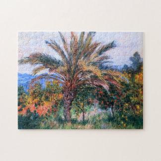 Claude Monet: Palm Tree at Bordighera Jigsaw Puzzle