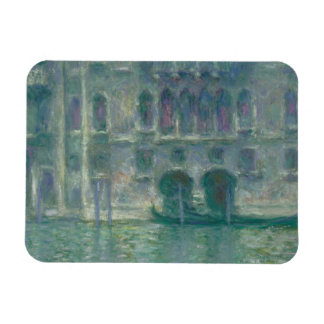 Claude Monet | Panoramic View of the Ile-de-France Rectangular Photo Magnet