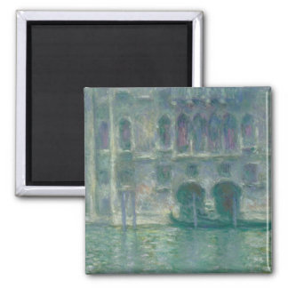 Claude Monet | Panoramic View of the Ile-de-France Square Magnet