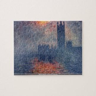 Claude Monet - Parliament in London puzzle