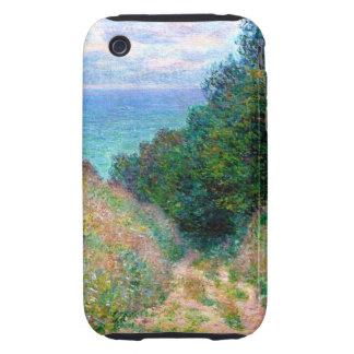 Claude Monet: Path at La Cavee Pourville iPhone 3 Tough Covers