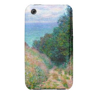 Claude Monet: Path at La Cavee Pourville Case-Mate iPhone 3 Cases
