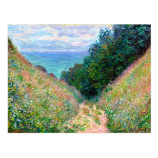 Claude Monet: Path at La Cavee Pourville Postcard