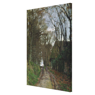 Claude Monet | Path in Normandy Canvas Print