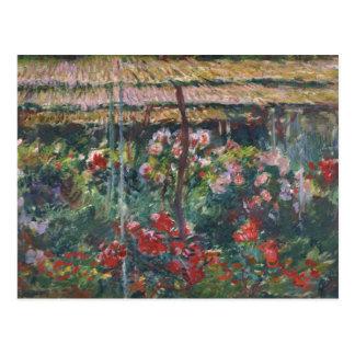Claude Monet - Peony Garden Postcard