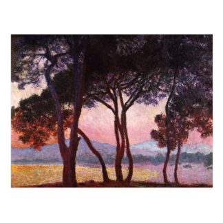 Claude Monet: Pines Postcard