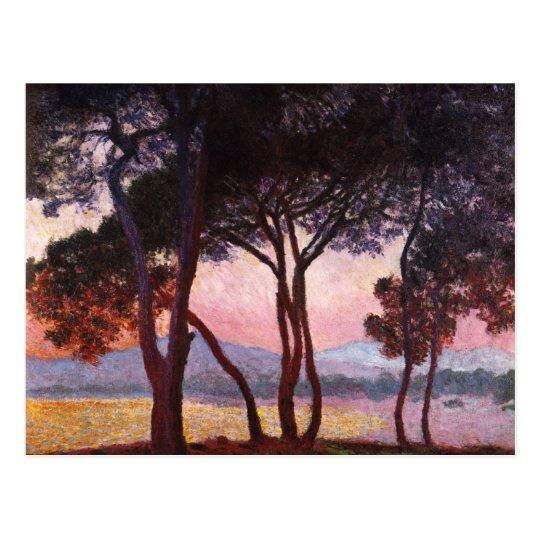 Claude Monet: Pines Postcard
