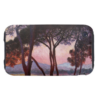 Claude Monet: Pines Tough iPhone 3 Cover