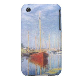 Claude Monet: Pleasure Boats at Argenteuil iPhone 3 Cases