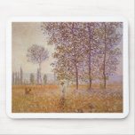 Claude Monet - Poplars in the Sun Mouse Pads