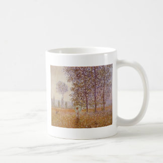 Claude Monet - Poplars in the Sun Mugs