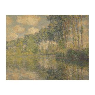 Claude Monet - Poplars on the Epte Wood Prints
