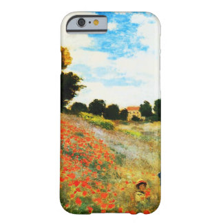 Claude Monet-Poppies at Argenteuil Barely There iPhone 6 Case
