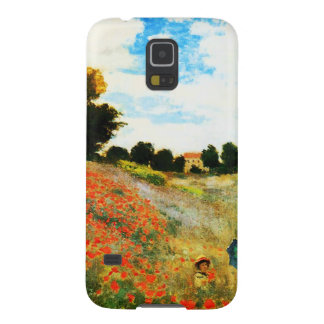 Claude Monet-Poppies at Argenteuil Galaxy S5 Cover