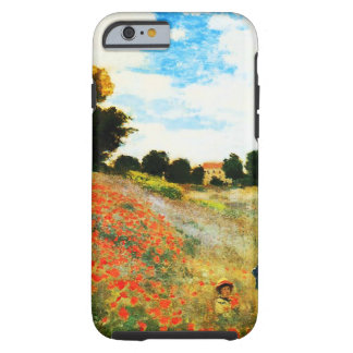 Claude Monet-Poppies at Argenteuil Tough iPhone 6 Case